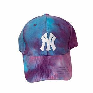 Womens New York NY Baseball Hat Tie Dye
